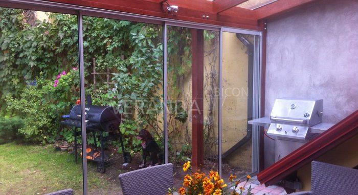 Klaaskatusega veranda!