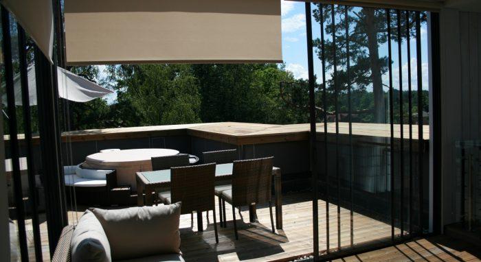 Sky Garden roof terrace glazing