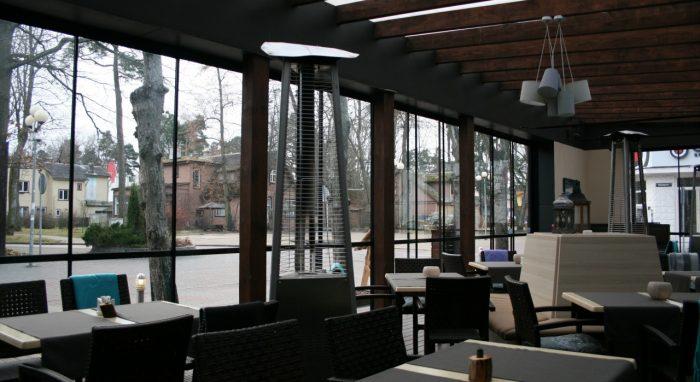 "Restaurant-Grilbar ""Lighthouse"""" glazing"