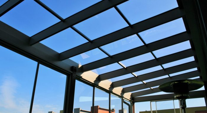 LEAN TO CONSERVATORY VI (Part 2of 2) Glass roof