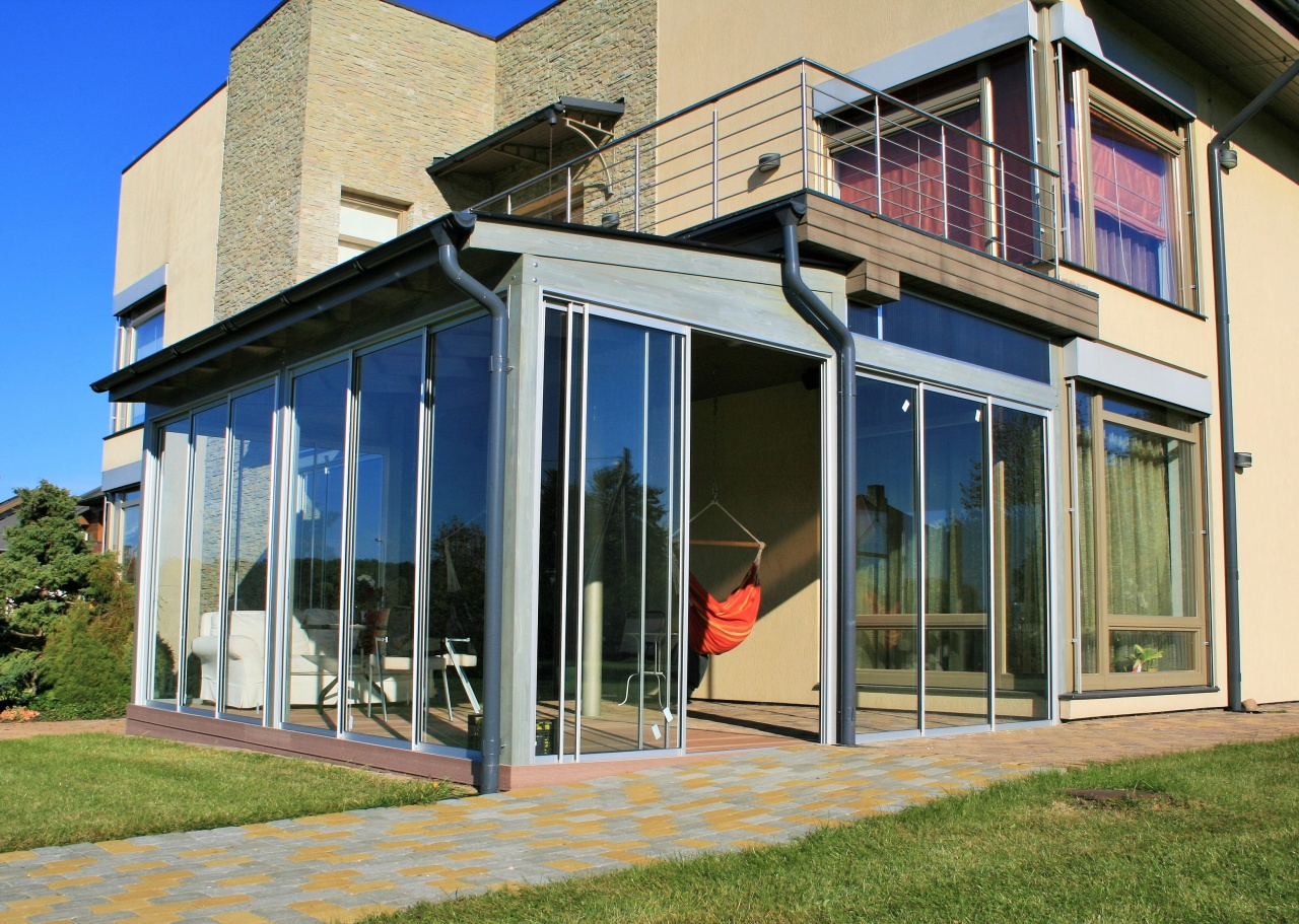 terrace transformation into veranda ii obicon verandas. Black Bedroom Furniture Sets. Home Design Ideas