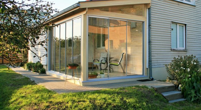 LEAN TO CONSERVATORY VIII