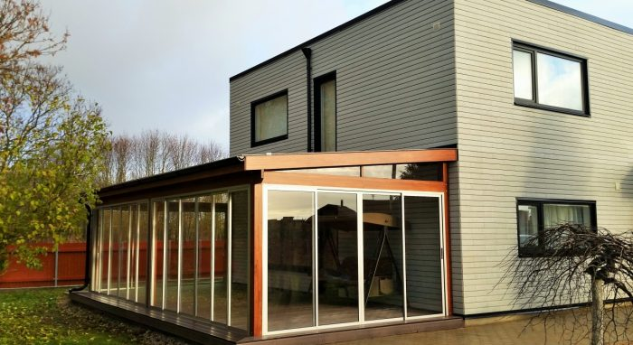 LEAN TO CONSERVATORY IN ESTONIA