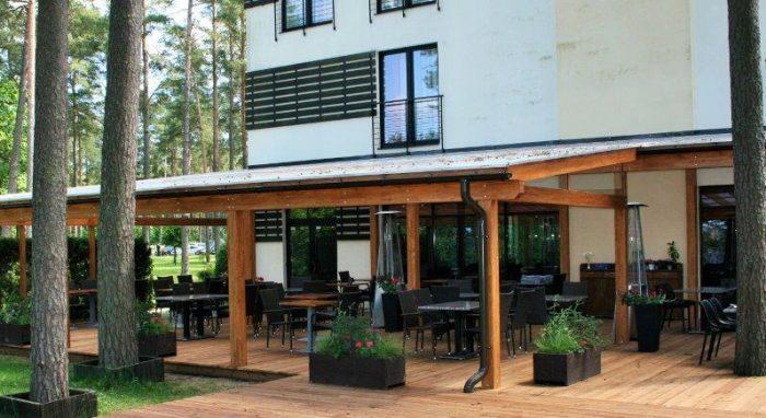 ВЕРАНДА 4-звездночнoи гостиницы, ресторанa, SPA и оздоровительный центрa BALTVILLA