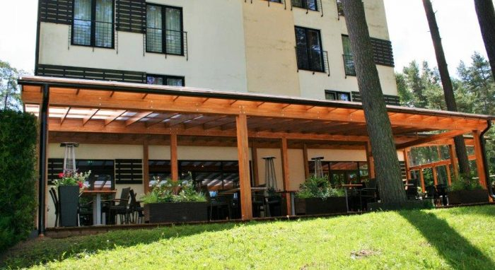 OUR GREATEST SUN ROOM BY THE BEAUTIFUL FOUR-STAR HOTEL, RESTAURANT, SPA AND HEALTH CENTER BALTVILLA (9,20×18,20)